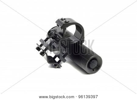 Strong Metal Mounting Flashlight And Flashlight
