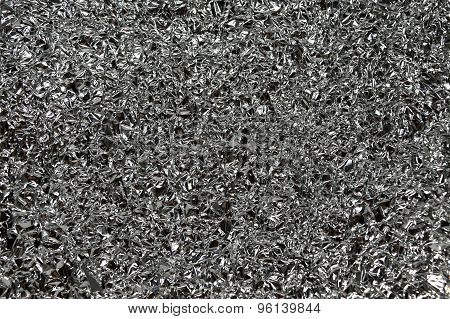 aluminum foil  background texture
