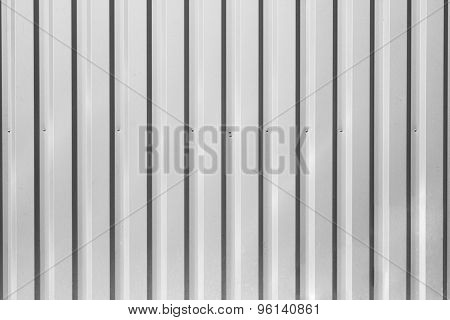 Corrugated Fence