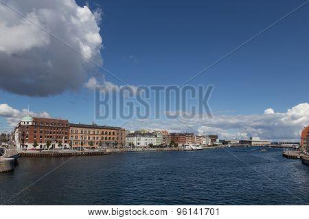 Copenhagen Harbor Channel