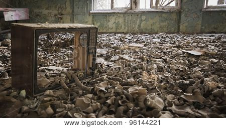 Chernobyl - Gas Masks On The Floor