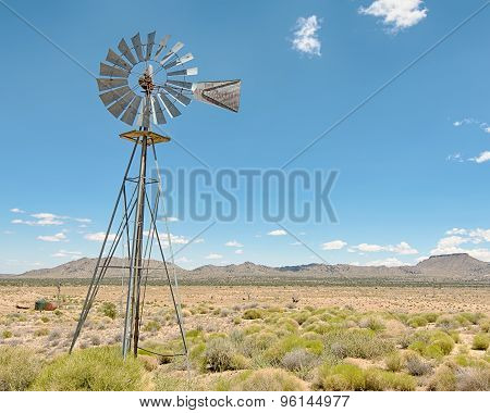 Windmill, Holliman Well, Mojave National Preserve, CA