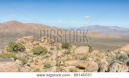 The Notch, Teutonia Peak Trail, Mojave National Preserve, CA