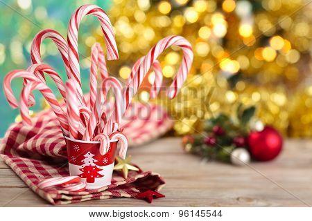 Candycanes.