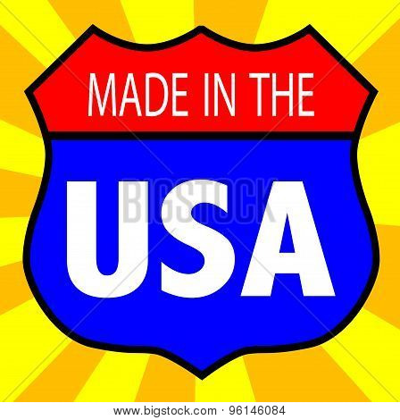 Made In The U.S.A. Shield