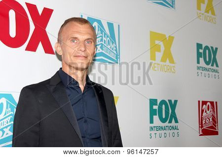 SAN DIEGO, CA - JULY 10: Richard Sammel arrives at the 20th Century Fox/FX Comic Con party at the Andez hotel on July 10, 2015 in San Diego, CA.