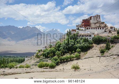 Thiksey Monastery In Leh, Ladakh, India