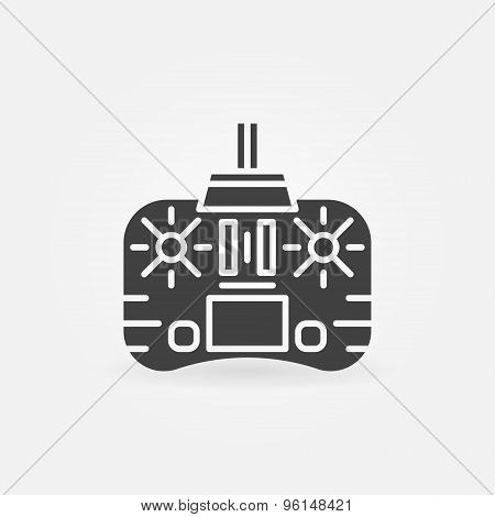 Remote control icon or logo