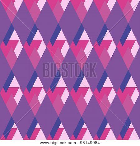 Geometrical Rhombus Seamless Pattern