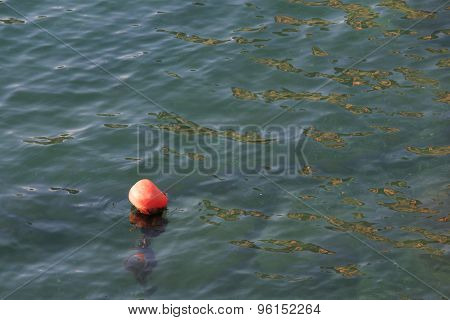 Bouy By The Sea