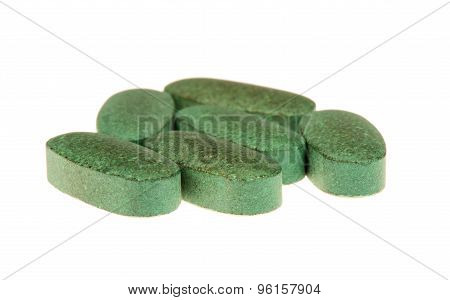 Multivitamins with spirulina.