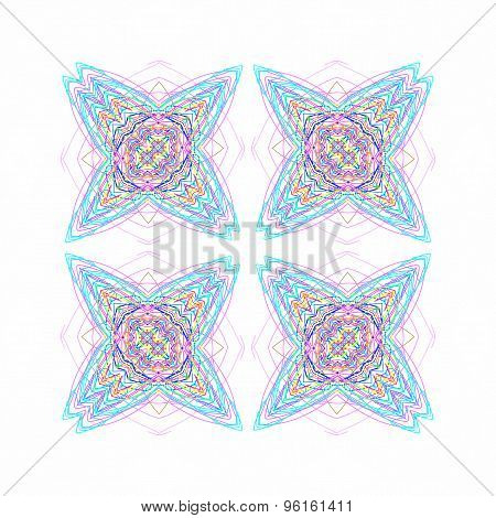 Abstract Color Pattern Shapes