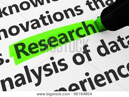 Research Business Concept