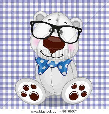 Hipster Polar Bear