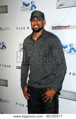 SAN DIEGO - JUL 16:  Hank Baskett at the 9th Annual Celebrity Bowl for Charity at the Lucky Strike on July 16, 2015 in Los Angeles, CA