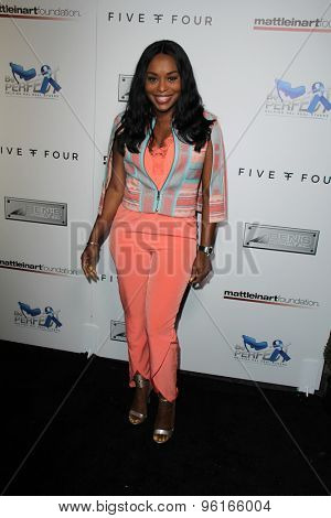 SAN DIEGO - JUL 16:  Quad Webb Lunceford at the 9th Annual Celebrity Bowl for Charity at the Lucky Strike on July 16, 2015 in Los Angeles, CA