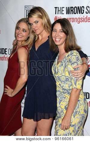 LOS ANGELES - JUL 14:  Christina Moore, Missi Pyle, Brooke Dillman at the