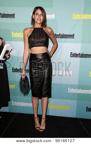 SAN DIEGO - JUL 11:  Willa Holland at the Entertainment Weekly's Annual Comic-Con Party at the FLOAT at The Hard Rock Hotel  on July 11, 2015 in San Diego, CA
