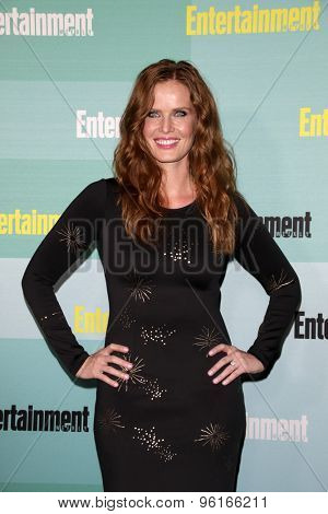 SAN DIEGO - JUL 11:  Rebecca Mader at the Entertainment Weekly's Annual Comic-Con Party at the FLOAT at The Hard Rock Hotel  on July 11, 2015 in San Diego, CA
