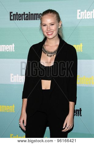 SAN DIEGO - JUL 11:  Danika Yarosh at the Entertainment Weekly's Annual Comic-Con Party at the FLOAT at The Hard Rock Hotel  on July 11, 2015 in San Diego, CA