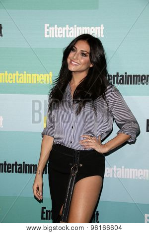 SAN DIEGO - JUL 11:  Cassie Scerbo at the Entertainment Weekly's Annual Comic-Con Party at the FLOAT at The Hard Rock Hotel  on July 11, 2015 in San Diego, CA
