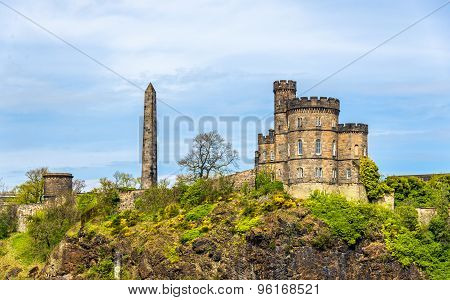 The Governor's House On Calton Hill In Edinburgh - Scotland