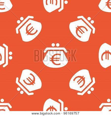 Orange euro purse pattern