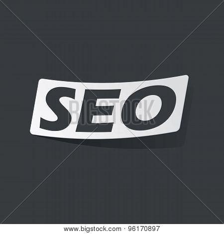 Monochrome SEO sticker