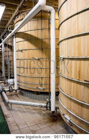 Two Bourbon Mash Tank