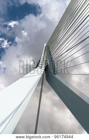 Erasmus Bridge Against Sky