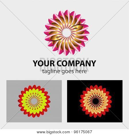Rotation icon. Repeat symbol. Refresh sign. Business abstract circle logo