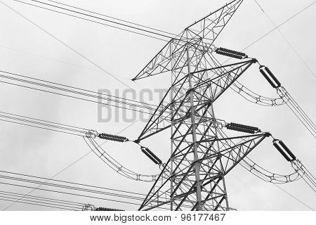 High Voltage Post High-voltage Tower