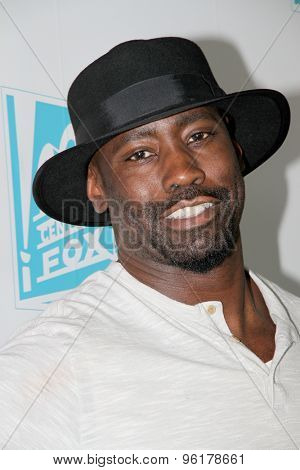 SAN DIEGO, CA - JULY 10: D.B. Woodside arrives at the 20th Century Fox/FX Comic Con party at the Andez hotel on July 10, 2015 in San Diego, CA.
