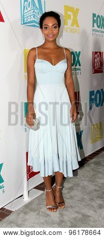 SAN DIEGO, CA - JULY 10: Lyndie Greenwood arrives at the 20th Century Fox/FX Comic Con party at the Andez hotel on July 10, 2015 in San Diego, CA.