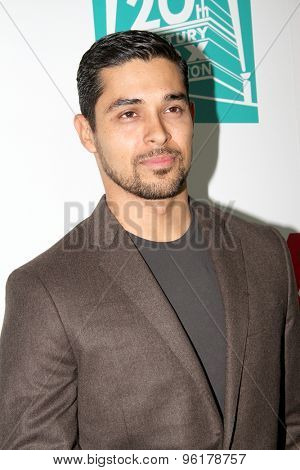 SAN DIEGO, CA - JULY 10: Wilmer Valderrama arrives at the 20th Century Fox/FX Comic Con party at the Andez hotel on July 10, 2015 in San Diego, CA.