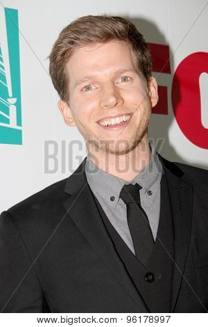 SAN DIEGO, CA - JULY 10: Stark Sands arrives at the 20th Century Fox/FX Comic Con party at the Andez hotel on July 10, 2015 in San Diego, CA.