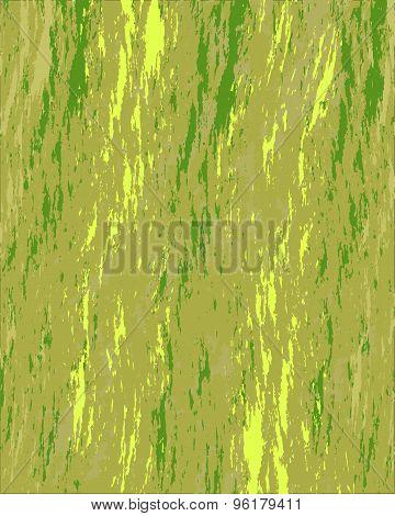 Yellow green background.