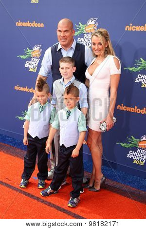 LOS ANGELES - JUL 16:  Tito Ortiz at the 2015 Kids' Choice Sports at the UCLA's Pauley Pavilion on July 16, 2015 in Westwood, CA