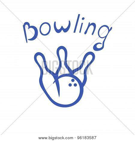 Logo Bowling