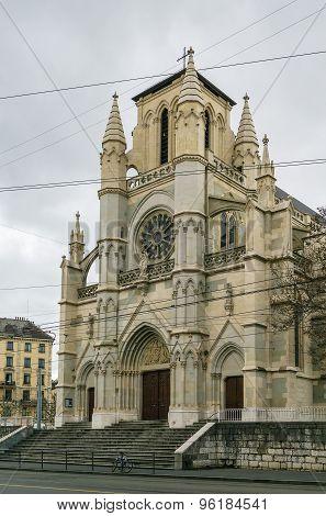 Basilica Of Our Lady Of Geneva, Switzerland