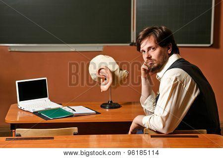 Man. Teacher Anatomy.