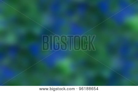 Pixelated blue green horizontally background