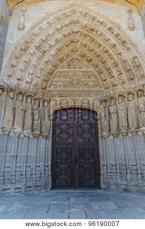 Avila Cathedral North Door