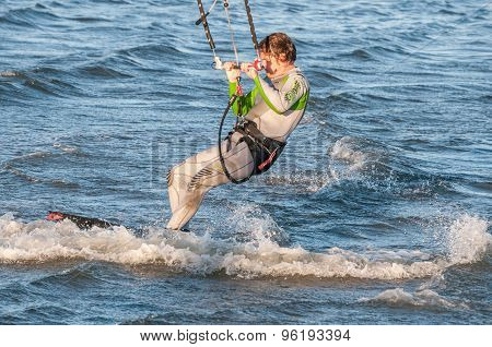 Windsurfer At Walvis Bay