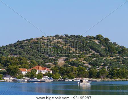 The bay of the Croatian village Murter