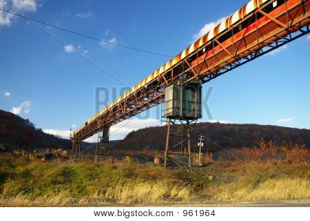 Abandoned Mine Conveyor