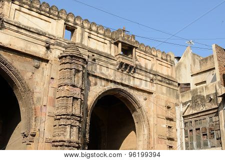 Example Of Indian Architecture In Ahmadabad, India