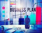 picture of objectives  - Business Plan Planning Strategy Success Objective Concept - JPG