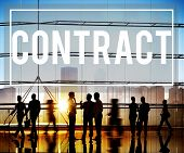 picture of bartering  - Contract Deal Agreement Negotiation Commitment Concept - JPG