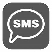 stock photo of sms  - The sms icon - JPG